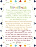 Magic Play Dough Poem