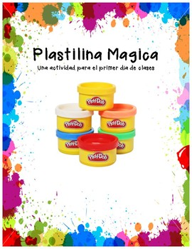 Magic Playdoh Spanish Version- Plastilina Mágica