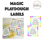 Magic Playdough Poem Labels
