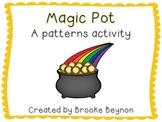Magic Pot - A Patterns Activity
