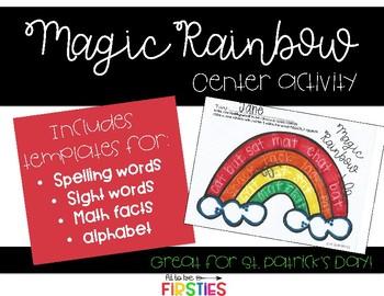 Magic Rainbow Writing