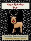Magic Reindeer Dust: Reindeer Food Poem & Bag Tags for Christmas Eve