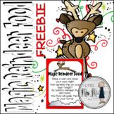 Magic Reindeer Food FREEBIE