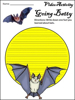 Magic School Bus Activities: Going Batty Halloween Activity Packet