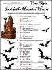 Magic School Bus Activities: Going Batty Halloween Activity Packet - Color