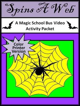 Magic School Bus: Spins a Web Halloween Video Activities