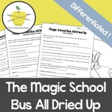 Magic School Bus All Dried Up Differentiated Video Workshe