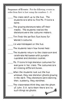 Magic School Bus BUNDLE : 3 Novel Studies for Books #1-3 (65 pages)