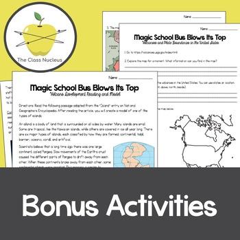 Magic School Bus Blows Its Top Video Worksheets + Bonus Activities