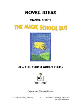 Magic School Bus Book #1 - A Literature and Science Connected Unit
