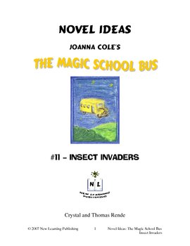 Magic School Bus Book #11 - A Literature and Science Connected Unit