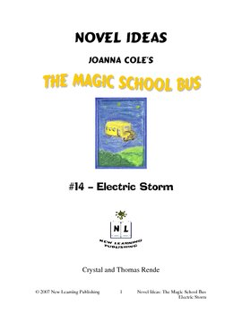 Magic School Bus Book #14 - A Literature and Science Connected Unit