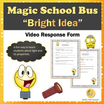 Light Energy Magic School Bus Gets A Bright Idea Video Response