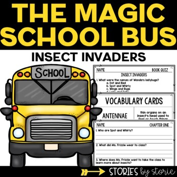 Magic School Bus Chapter Book #11 Insect Invaders