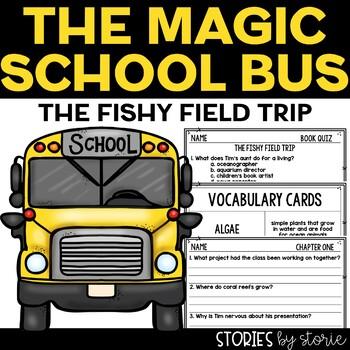 Magic School Bus Chapter Book #18 The Fishy Field Trip
