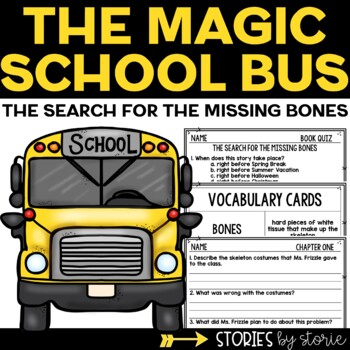 Magic School Bus Chapter Book #2 The Search for the Missing Bones