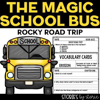 Magic School Bus Chapter Book #20 Rocky Road Trip