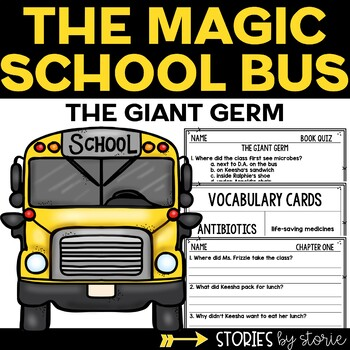 Magic School Bus Chapter Book #6 The Giant Germ