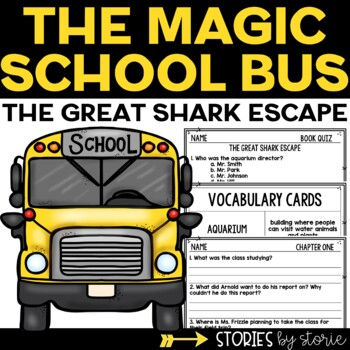 Magic School Bus Chapter Book #7 The Great Shark Escape