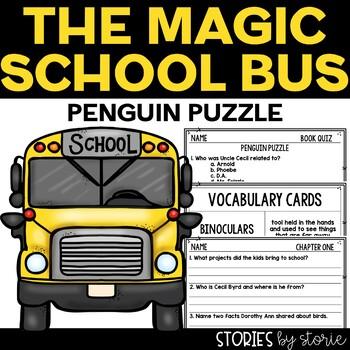 Magic School Bus Chapter Book #8 Penguin Puzzle