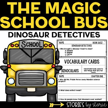 Magic School Bus Chapter Book #9 Dinosaur Detectives