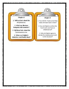 Magic School Bus DINOSAUR DETECTIVES - Discussion Cards