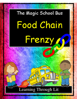 Magic School Bus FOOD CHAIN FRENZY - Discussion Cards
