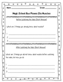 Magic School Bus Flexes Its Muscles Video Worksheet Science 3.L.1.1