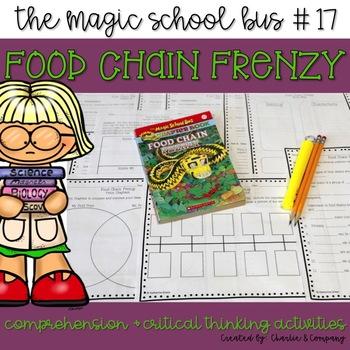 Magic School Bus - Food Chain Frenzy - Book Companion