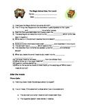 Magic School Bus For Lunch Summary Sheet