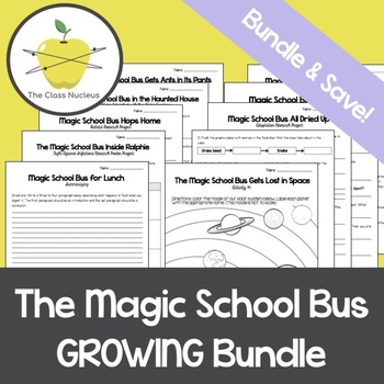 Magic School Bus *GROWING* Bundle
