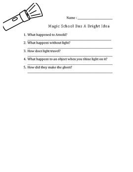 Magic School Bus Gets A Bright Idea (Light)