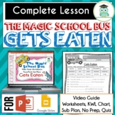Magic School Bus GETS EATEN Video Guide, Sub Plan, Worksheets, FOOD CHAINS