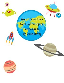 Magic School Bus Gets Lost in Space Video Guide