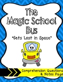 """Magic School Bus """"Gets Lost in Space"""": Video Questions & N"""