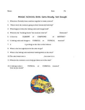 Magic School Bus: Gets Ready, Set Dough