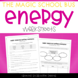 Magic School Bus Getting Energized - Energy Worksheets
