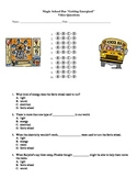 """Magic School Bus """"Getting Energized"""" Video Questions (energy)"""