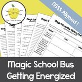 Magic School Bus Getting Energized Video Worksheets + Bonu