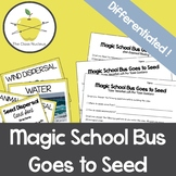 Magic School Bus Goes to Seed Video Worksheets + Bonus Card Sort