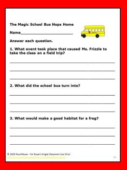 Magic School Bus Hops Home