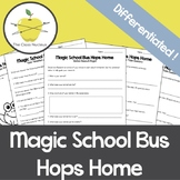 Magic School Bus Hops Home Differentiated Video Worksheets + Activities