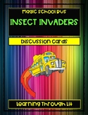 Magic School Bus INSECT INVADERS - Discussion Cards