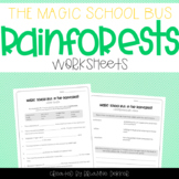Magic School Bus In The Rainforest - Ecosystems Worksheets