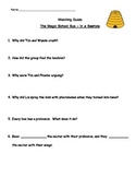 """Magic School Bus """"In a Beehive"""" Listening guide - bees and making honey"""