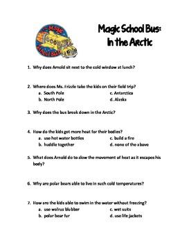 Magic School Bus In the Arctic