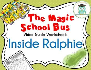 Magic School Bus Inside Ralphie Video Guide Worksheet