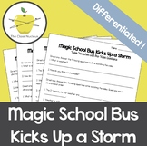 Magic School Bus Kicks Up a Storm Differentiated Video Worksheets