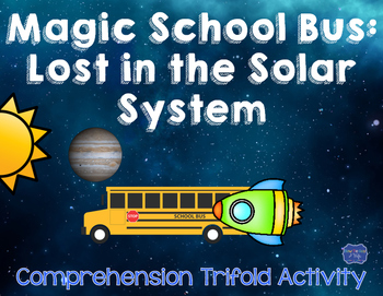 Magic School Bus Lost in the Solar System comprehension qu