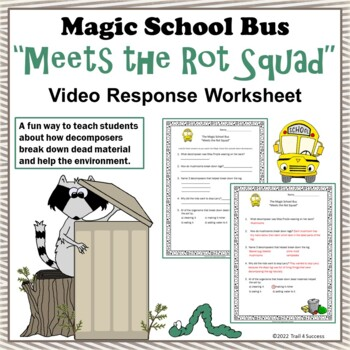 """Decomposers Magic School Bus """"Meets the Rot Squad"""" Video R"""